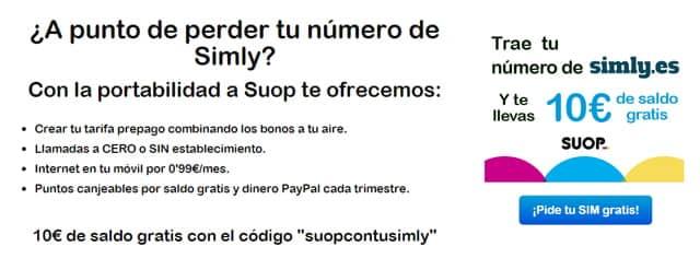 Suop quiere hacer a los clientes de Simly una oferta 'que no podrán rechazar'.