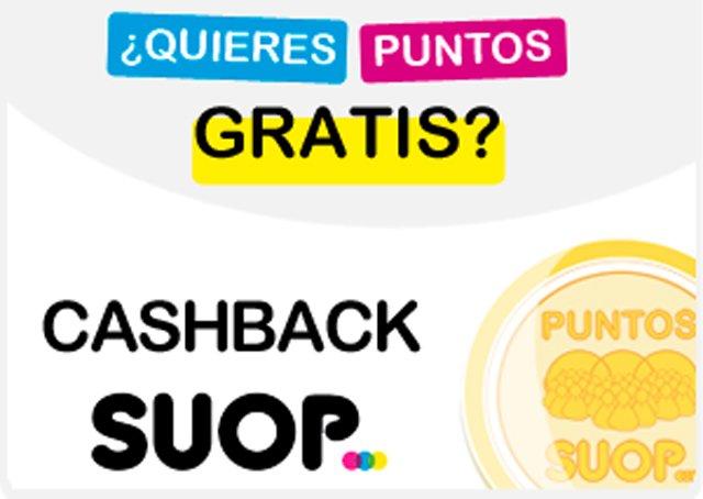 Programa de cashback de Suop