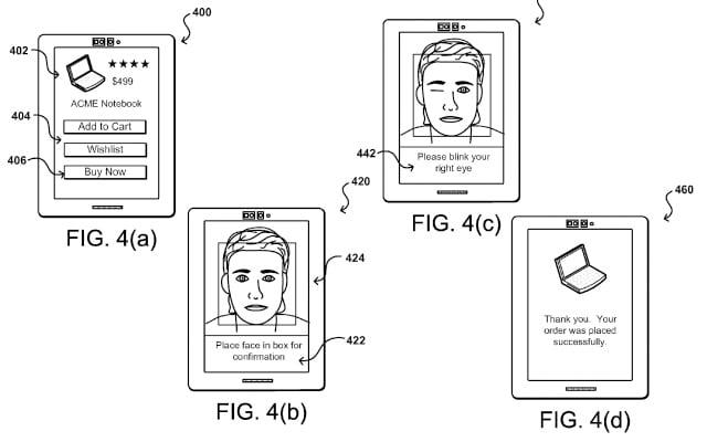 Amazon permite el pago con selfie