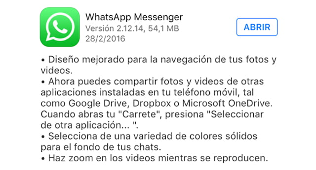 Bug de WhatsApp