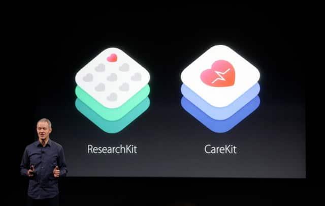 CareKit salud en el iPhone