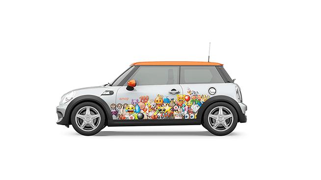 emoji coche