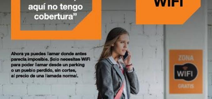 Orange permite a sus clientes llamar aunque no haya cobertura