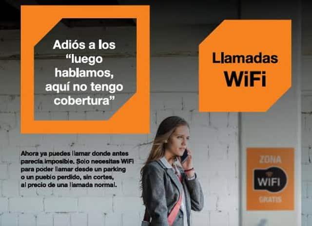 Llamadas WiFi de Orange