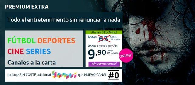 Movistar TV Premium Extra