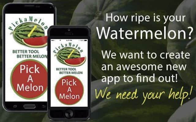 Aplicaciones curiosas: Pick a Melon