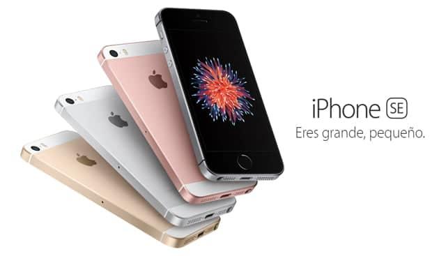 Precio del iPhone SE