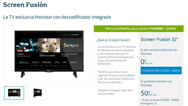 Screen Fusión de Movistar