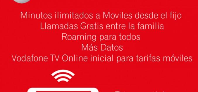 Vodafone reforma sus tarifas móviles