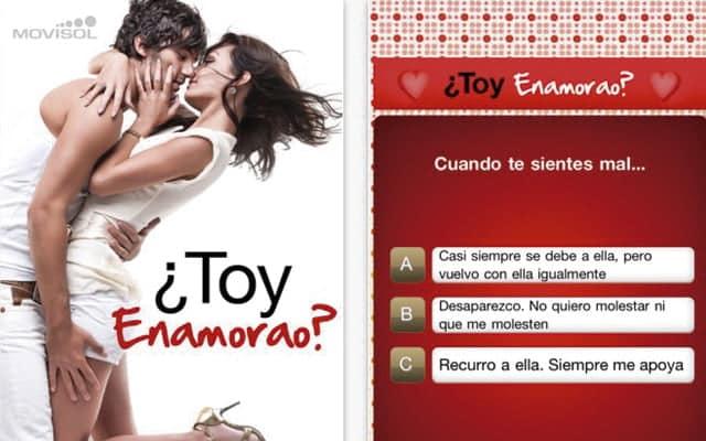 Aplicaciones curiosas: Toy Enamorado