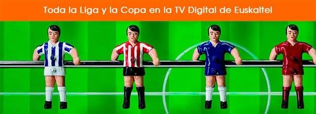 Euskaltel ofrecía fútbol