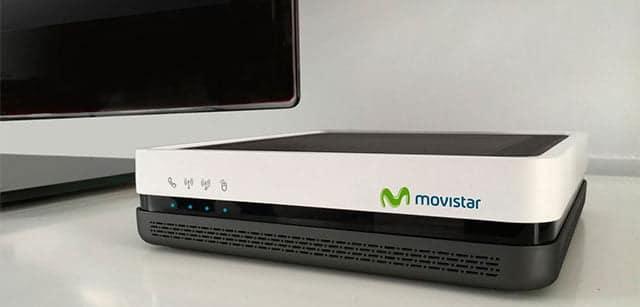 Home Gateway Unit de Movistar