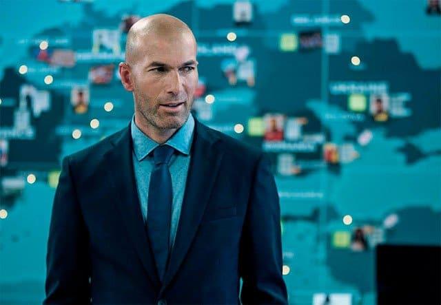 Zidane en Orange Sponsors You