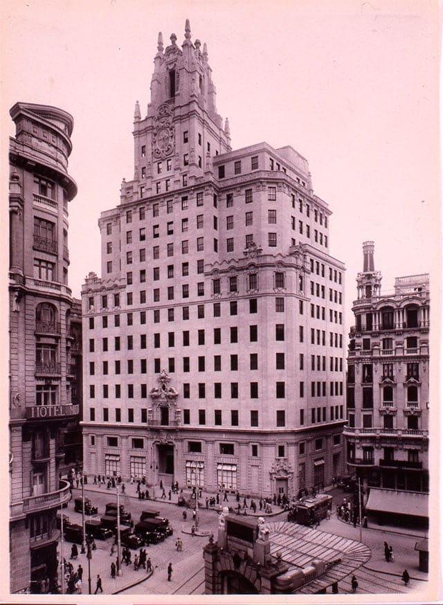 edificio de Telefonica