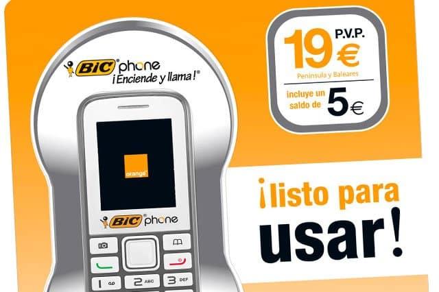pack prepago Bic Phone