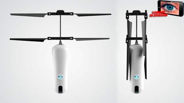 Roam-e palo selfie volador