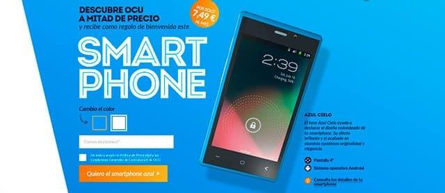 smartphone de la Ocu