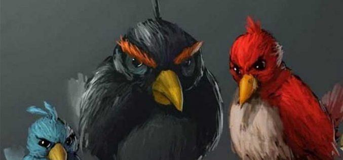 El arte se inspira en Angry Birds