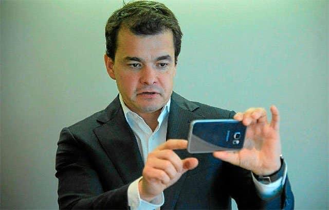 Eduardo Rodríguez, director de Consumo del área de Movilidad de Samsung España