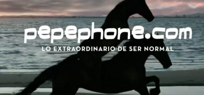 El spot de Pepephone que sólo se emitirá una vez
