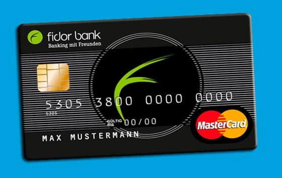 MasterCard de Fidor Bank