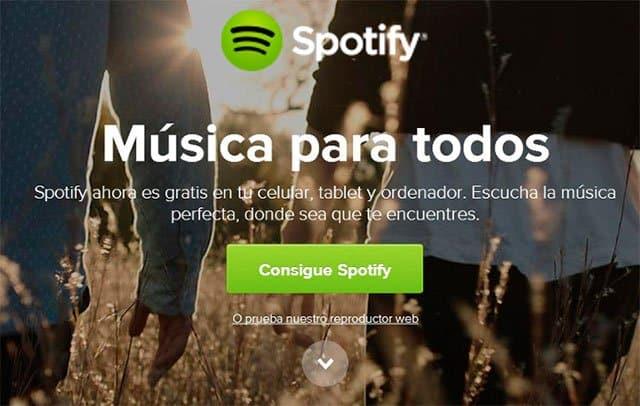 app de musica Spotify