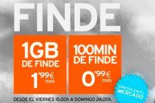 Simyo añade 1GB por 1,99 euros y 100 minutos por 99 céntimos para usar el fin de semana