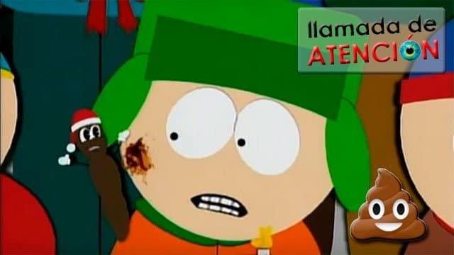 caca del WhatsApp y señor Mojón, de South Park