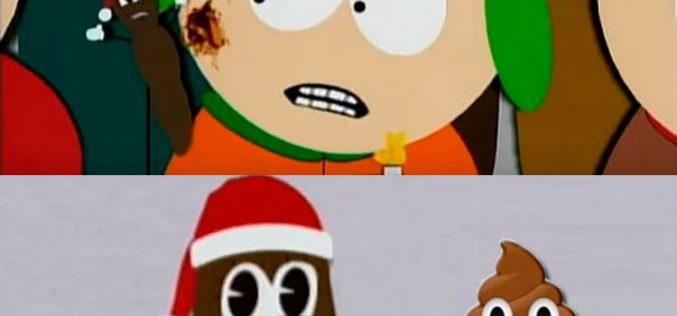 La caca del WhatsApp es hija del señor Mojón, de South Park