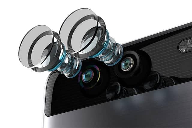 cámaras del Huawei P9