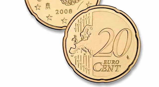 moneda de 20 céntimos