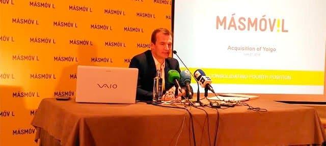 Meinrad Spenger, consejero delegado de Masmóvil