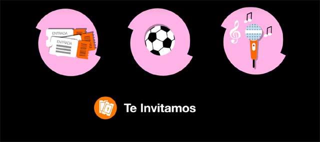 invvitaciones por Ser de Orange