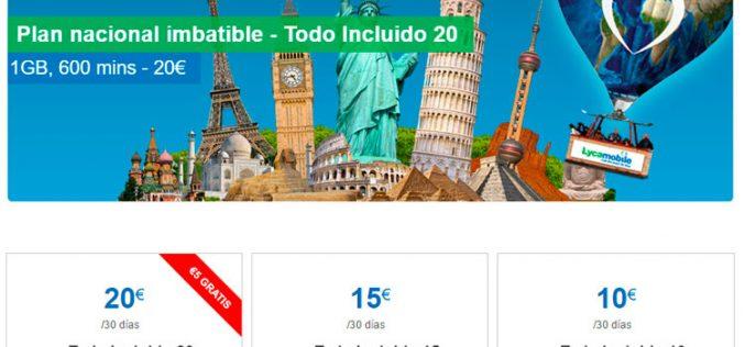 Lycamobile ahora permite llamar a 52 países desde 10 euros al mes