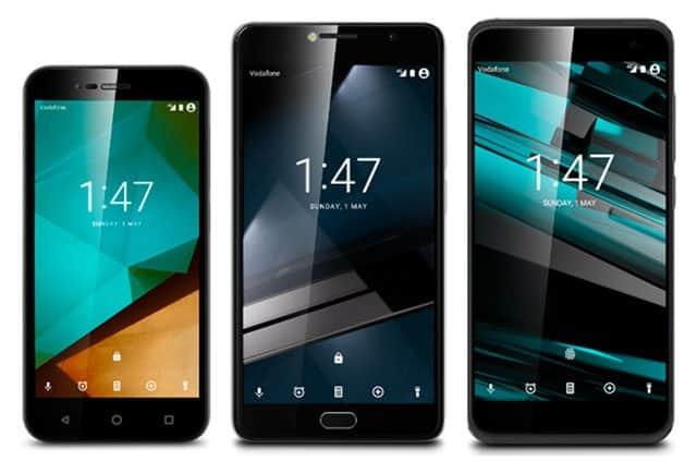 Vodafone Smart Prime 7 Ultra 7 y Platinum 7