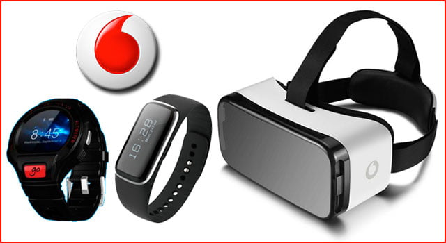 Accesorios móviles de marca Vodafone