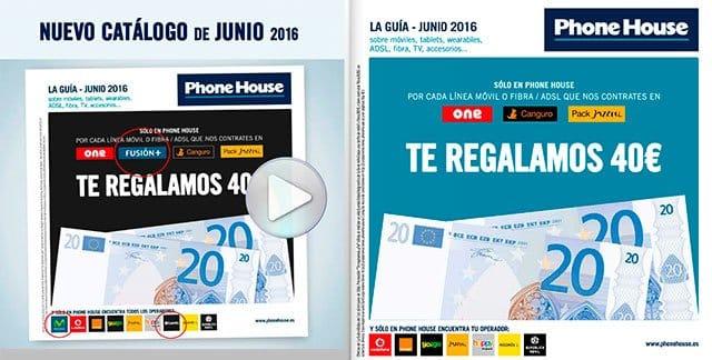 catálogo de junio de Phone House