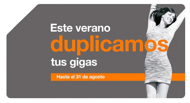 promoción de verano del prepago de Orange