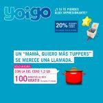 promoción de La tarifa del cero 1,2GB de Yoigo