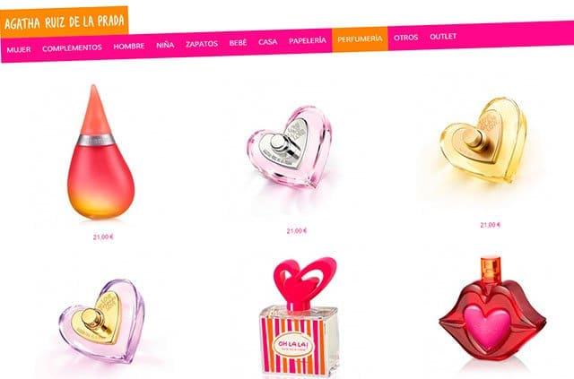 tienda online de Ágatha Ruiz de la Prada