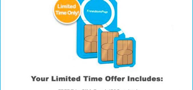 FreedomPop ofrece llamadas ilimitadas y 10GB por unos 12 euros al mes