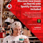 Spotify con Vodafone