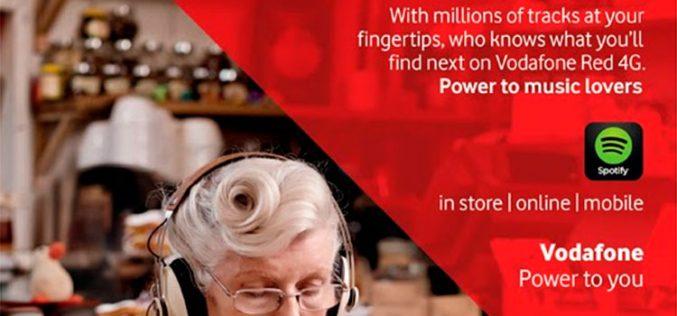 Vodafone regala hasta seis meses de Spotify Premium