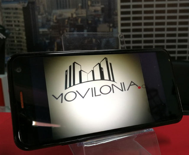 Foro de logo de Movilonia en el dispositivo