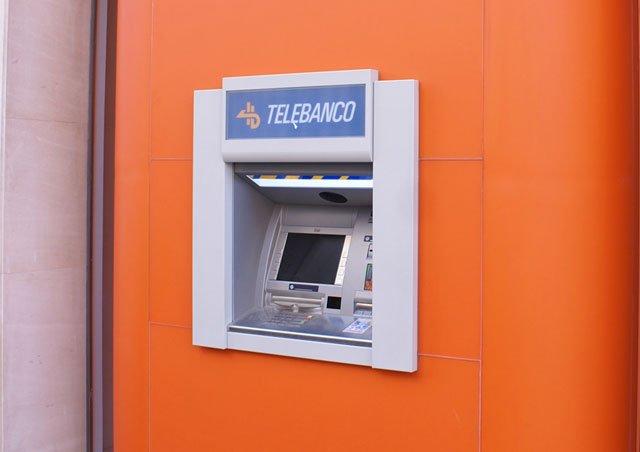 cajero automático de ING Direct