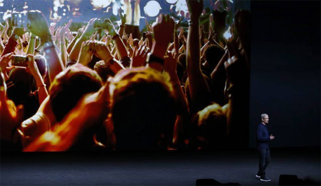 presentación del iPhone 7 y iPhone 7 Plus