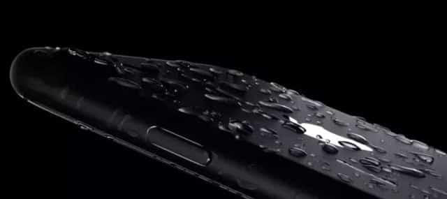 El iPhone 7 es resistente a salpicaduras