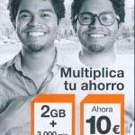 tarifas Mundo, prepago de Orange