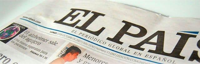 periódico El País