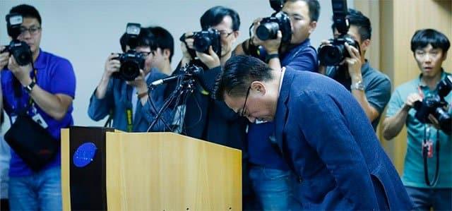 Koh Dong-jin, presidente de negocio de smartphones de Samsung